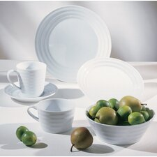 <strong>Ten Strawberry Street</strong> Swing White Dinnerware Set