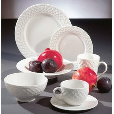 <strong>Ten Strawberry Street</strong> Havana Weave Dinnerware Set