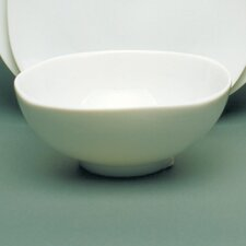 "Fusion White 6"" Square Cereal Bowl"