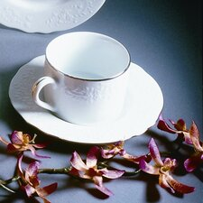 <strong>Ten Strawberry Street</strong> Vine Silver 7 oz. Cup and Saucer