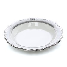 Vanessa Platinum 8 oz. Studio Ten Rim Soup Bowl (Set of 6)
