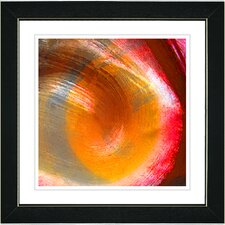 """Crush"" by Zhee Singer Framed Giclee Print Fine Art in Orange"