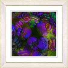 """Naomi"" by Zhee Singer Framed Giclee Print Fine Art in Purple"