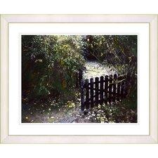 """Cape Cod Garden - Spring"" by Mia Singer Framed Fine Art Giclee Print"