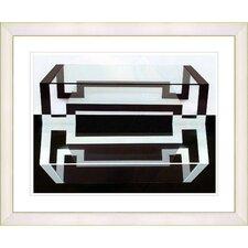 """""""Hexnocular III"""" by Zhee Singer Framed Fine Art Giclee Print"""