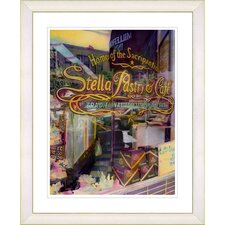 """""""Stella Pastry & Cafe"""" by Mia Singer Framed Fine Art Giclee Photographic Print"""