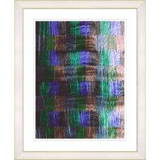 """Alchemical Table - Purple"" by Zhee Singer Framed Fine Art Giclee Print"