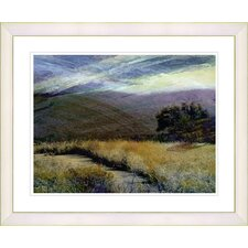 """Sonoma After the Rain"" by Zhee Singer Framed Fine Art Giclee Print"