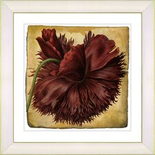 Vintage Botanical No. 51A by Zhee Singer Framed Giclee Print Fine Wall Art
