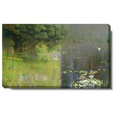 "<strong>Studio Works Modern</strong> ""Midnight Garden"" Gallery Wrapped Canvas Wall Art"