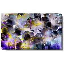 Tiger Flowers Gallery Wrapped by Zhee Singer Graphic Art on Canvas