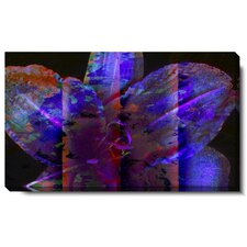 """Night Flower"" Gallery Wrapped Canvas Wall Art"