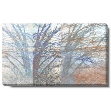 """Winter Branches"" Gallery Wrapped Canvas Wall Art"