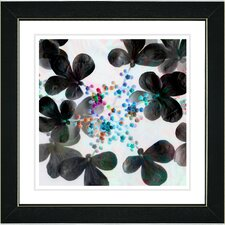 """Summer Walk Flowers"" by Zhee Singer Framed Graphic Art"