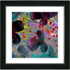 """Party Flower"" by Zhee Singer Framed Graphic Art"
