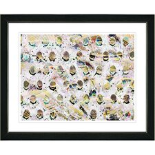 """Eggs"" Framed Fine Art Giclee Print"