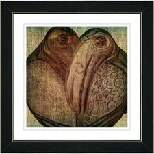 "<strong>Studio Works Modern</strong> ""Birds of a Feather"" Framed Fine Art Giclee Print"