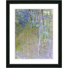 """Summer Forest"" Framed Fine Art Giclee Print in Noon"