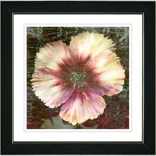 """Floral Flair"" Framed Fine Art Giclee Print"