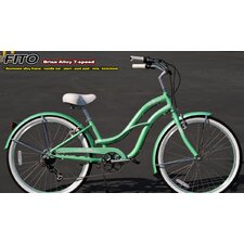 Women's Brisa Alloy Shimano 7-Speed Beach Cruiser Bike