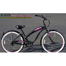 Women's Modena EX Alloy Shimano 7-Speed Beach Cruiser Bike