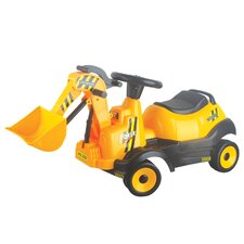 6V Ride-on 4-Wheel Bulldozer Battery Powered Construction Vehicle