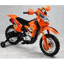 Boy's Vroom Rider VR093 Battery Operated 6V Kids Dirt Bike
