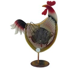 Himalayan Breeze Large Decorative Rooster Fan
