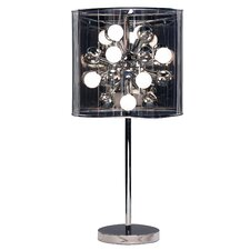 "Galaxy 28.5"" H Table Lamp with Drum Shade"