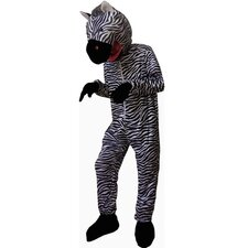<strong>Dress Up America</strong> Animal Striped Zebra Children's Costume