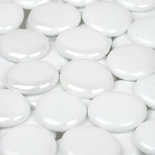 <strong>Wholesalers USA</strong> 5 lbs of  Glass Gems in White