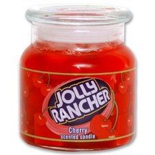 Jolly Rancher Cherry Jar Candle