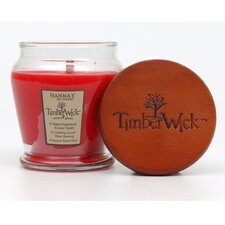 TimberWick Candied Apple Jar Candle