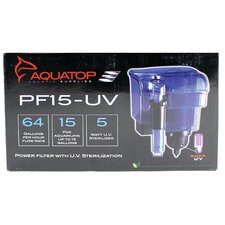 <strong>Aquatop Aquatic Supplies</strong> Hang On Filter with UV Sterilizer