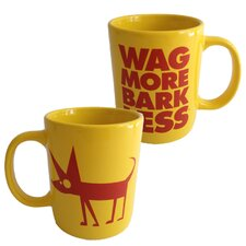 <strong>Wag More Bark Less</strong> Pedro Posse Mug