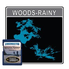 Woods/Rainy Electronic Fishfinder Chart Card