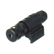Adjustable Red Laser Sight With Weaver Ring