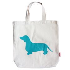 Pet-Lover Dachshund Tote Bag