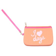 "Pet-Lover  ""I Love Dogs"" Wristlet"