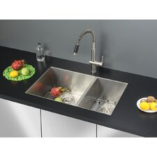 "<strong>Ruvati</strong> 29"" x 19"" Kitchen Sink with Faucet"