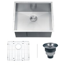"Nesta 23"" x 20"" Undermount Single Bowl Kitchen Sink"