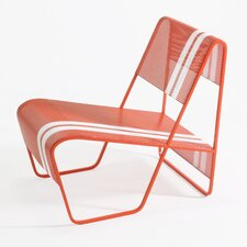 Lami Perforated Sheet Metal Lounge Chair
