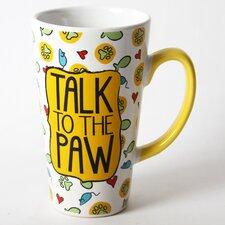 Mr. Snugs Cat  Stoneware Latte Mug