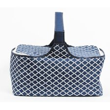 Latitude 38 Nautical Medallion Insulated Picnic Basket