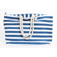 Latitude 38 Stripe Circle Tote Bag