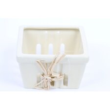 Farm to Table Large Ceramic Berry Basket