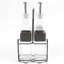 Farm to Table Glass Cruet Set