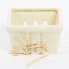 Farm to Table Small Ceramic Berry Basket