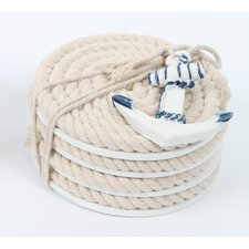 Latitude 38 Nautical Rope Coaster (Set of 4)
