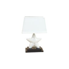 "Starfish 16"" H Table Lamp with Empire Shade"